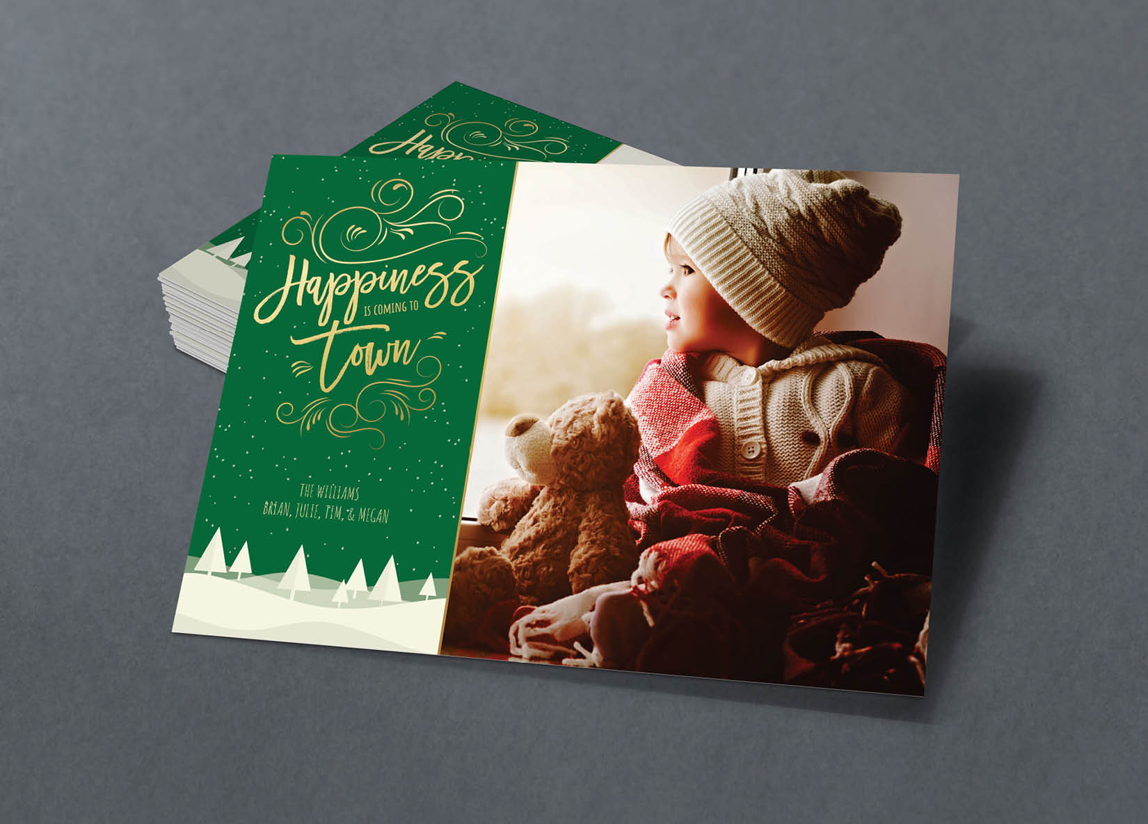 Corefact Family Holiday Card - 03