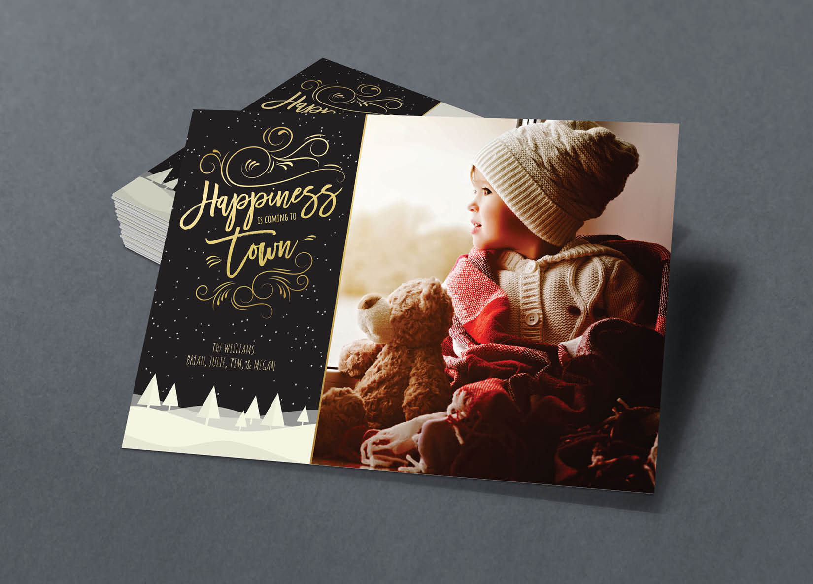 Corefact Family Holiday Card - 04
