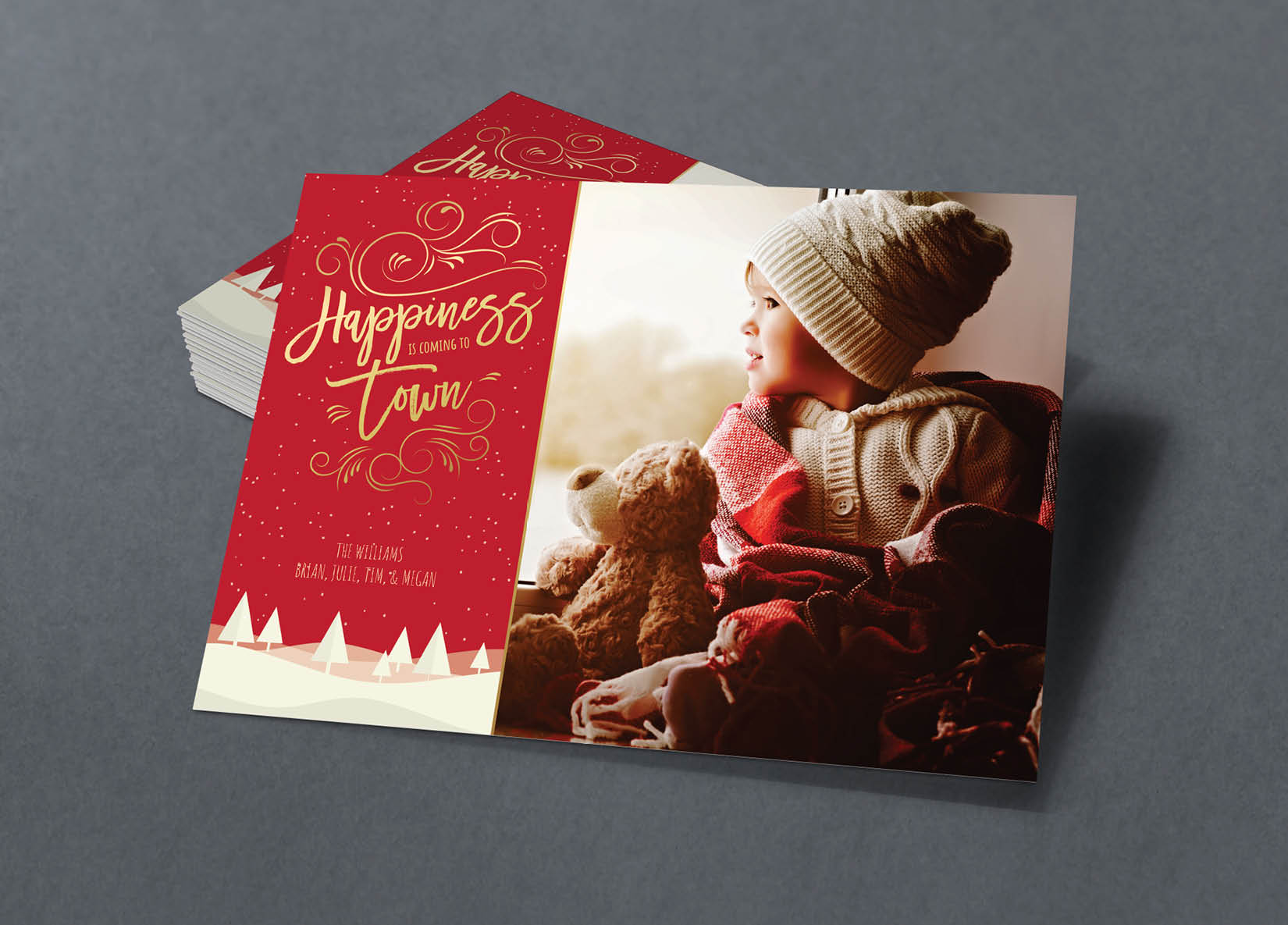Corefact Family Holiday Card - 05