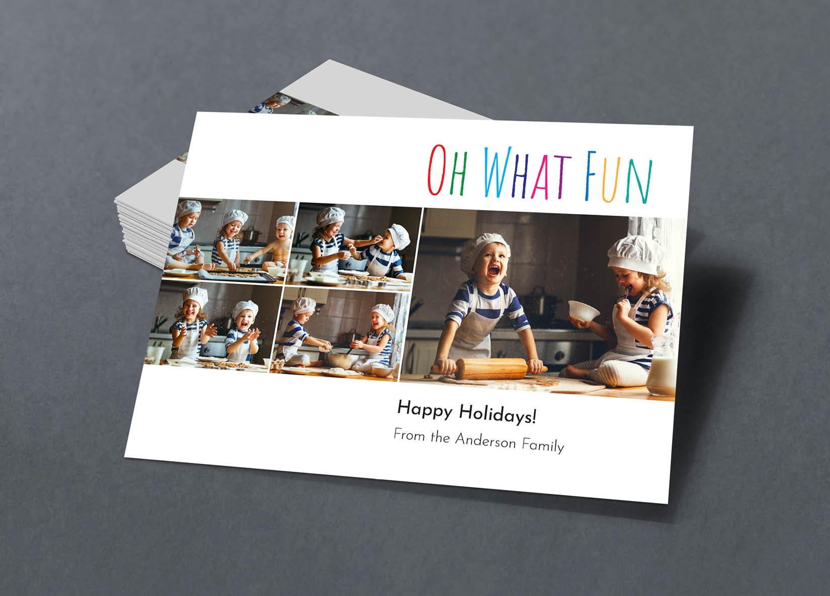 Corefact Family Holiday Card - 07