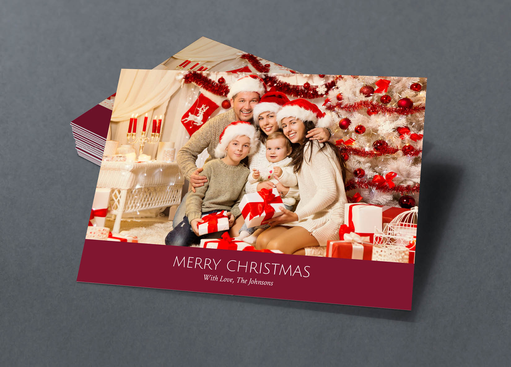 Corefact Family Holiday Card - 08