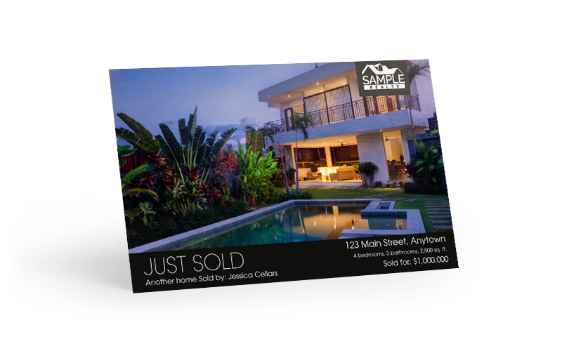 Just Sold Postcard -- Single Feature Image