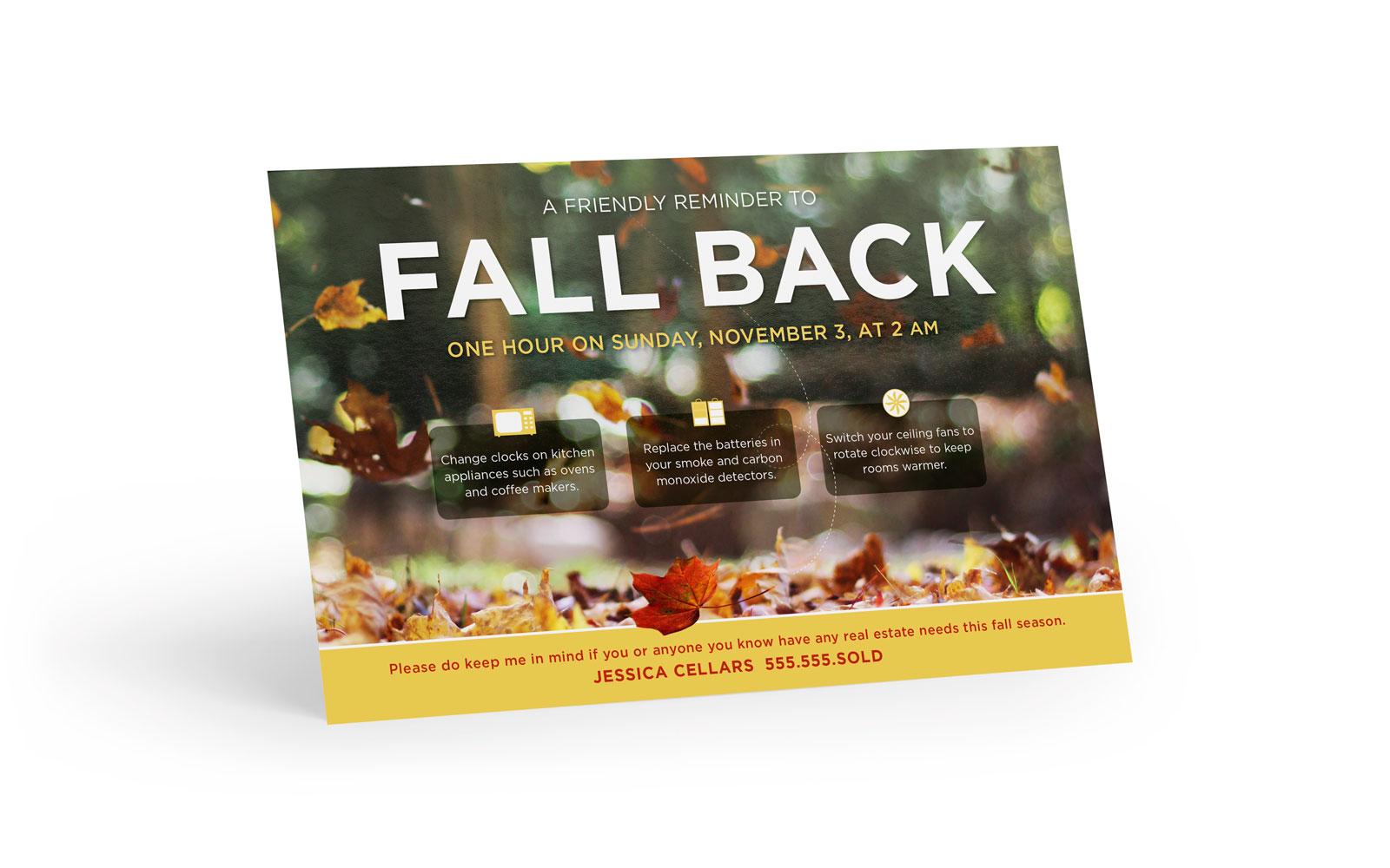 Corefact Seasonal - Fall Back Reminder