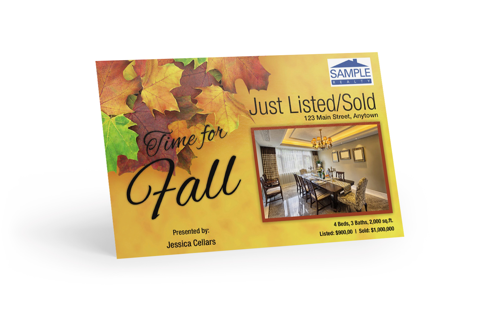 Corefact Seasonal - Just List/Sold Fall