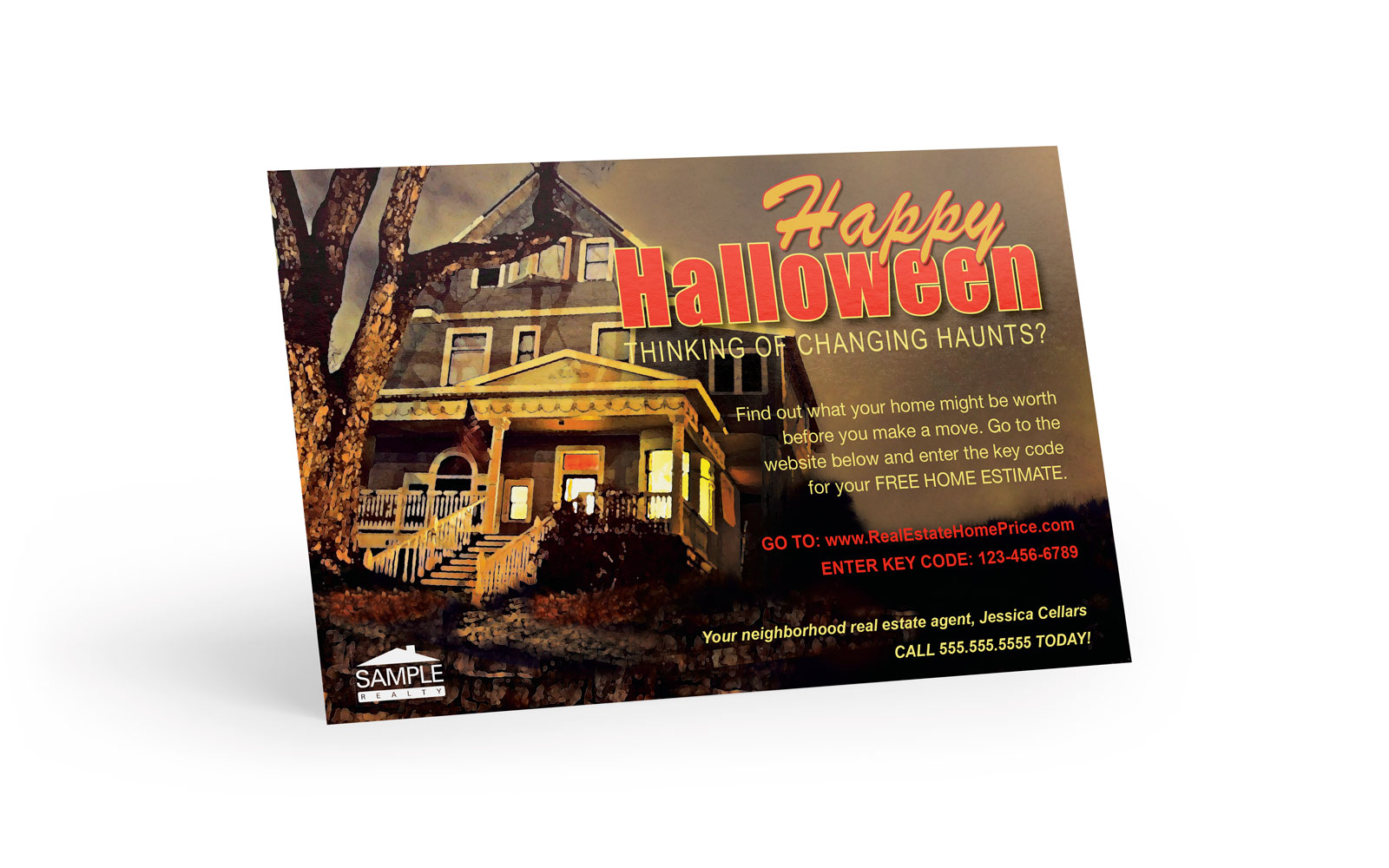 Corefact Seasonal - Home Estimate Halloween 01