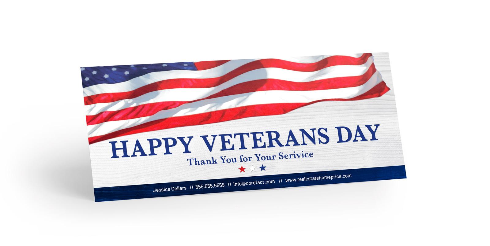 Corefact Seasonal - Veterans Day