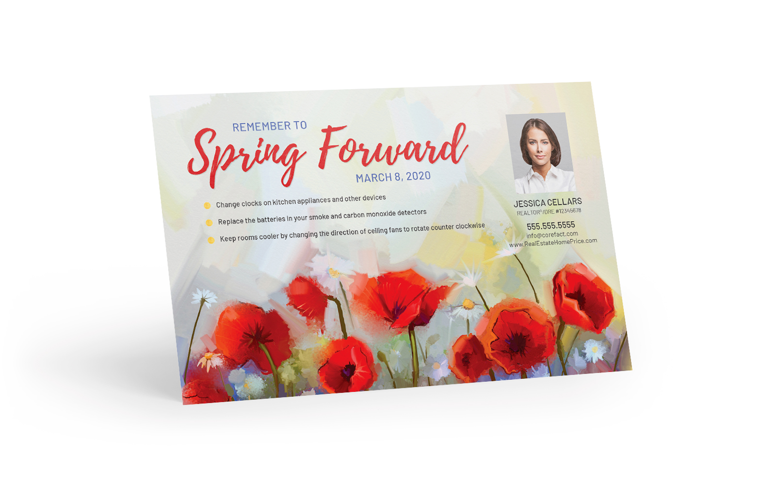 Corefact Seasonal - Spring Forward Reminder