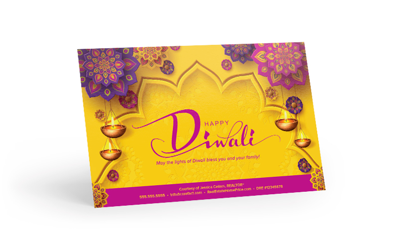 Corefact Seasonal - Happy Diwali Gold