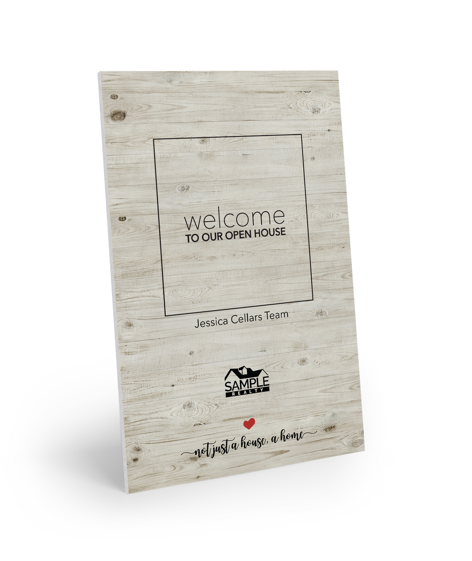 Corefact Welcome Sign - Wood 01