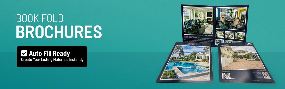 Luxury Property Book Fold Brochures