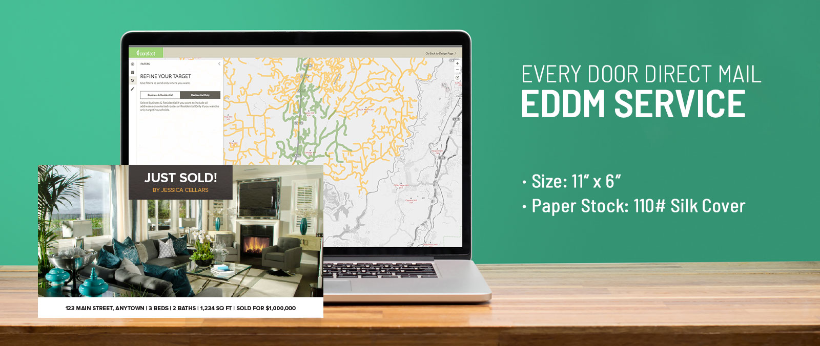 Every Door Direct Mail - Just Sold Postcards