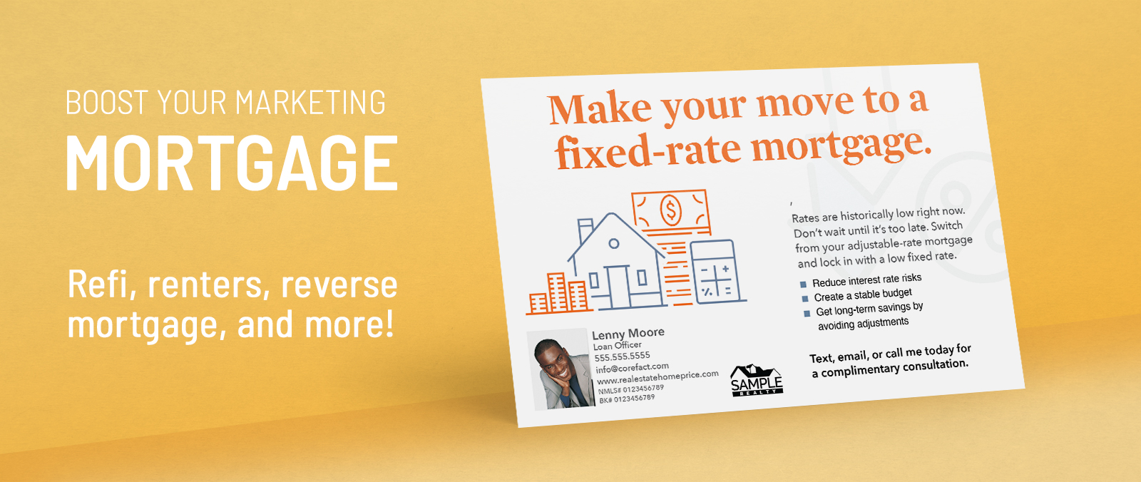 Mortgage and Lender Postcards