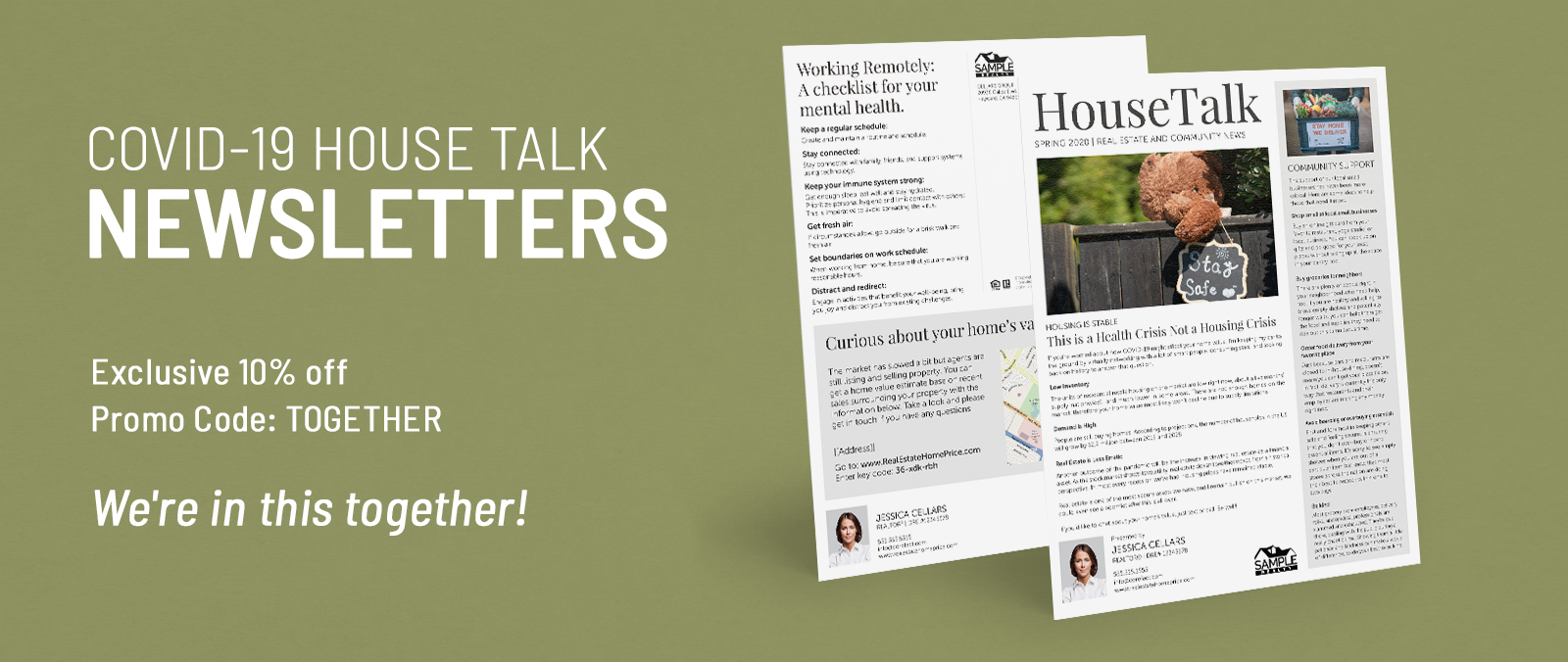 COVID-19 House Talk Series Newsletters