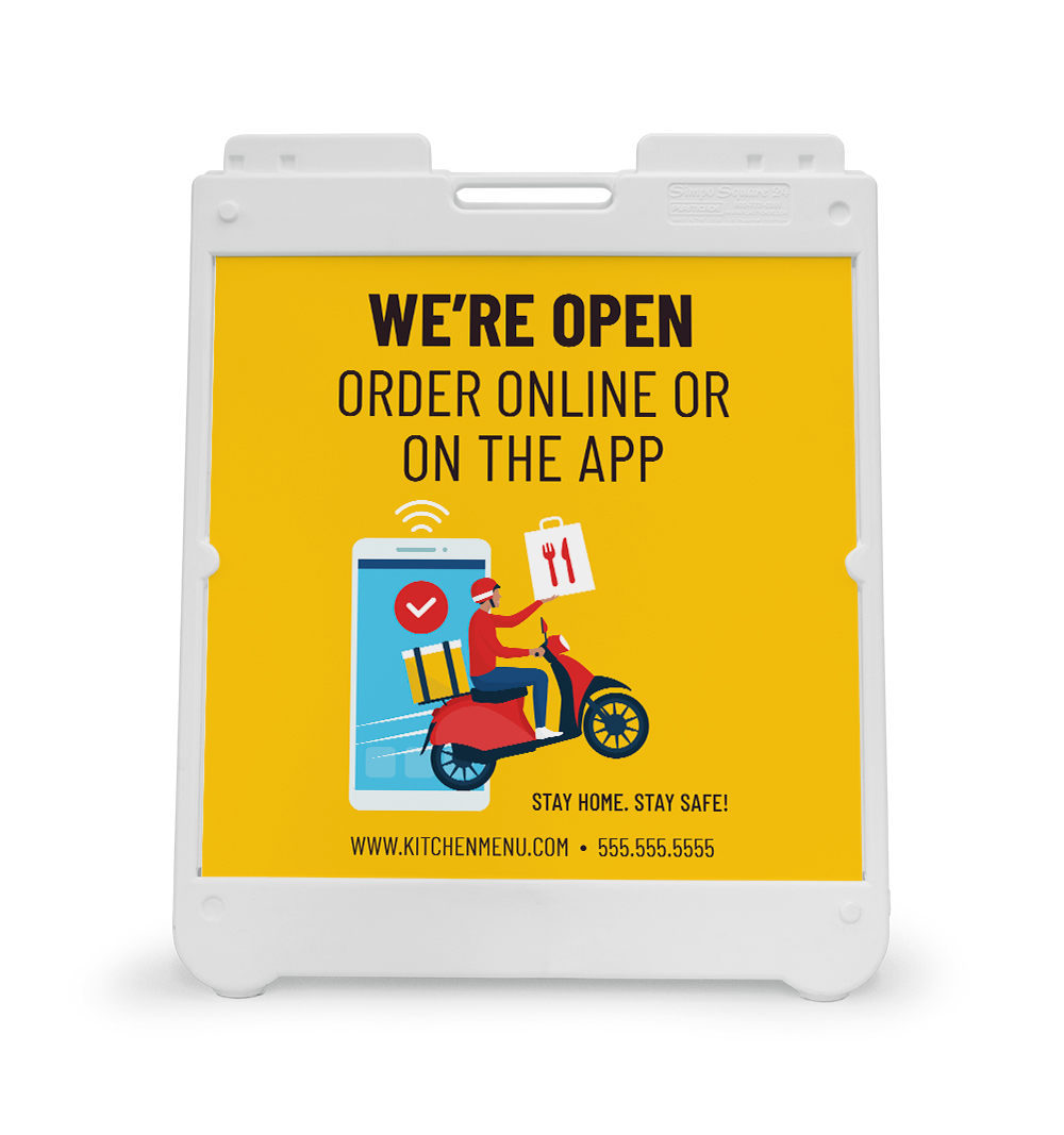 Corefact A-Frame Sign - Order Online