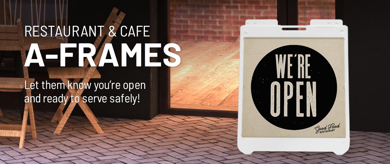 Restaurant A-Frames
